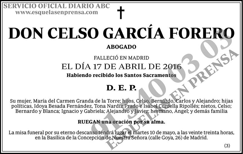 Celso García Forero
